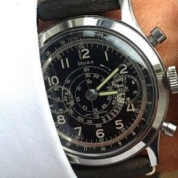 MY WATCH STORY: Paul's Doxa Chronograph