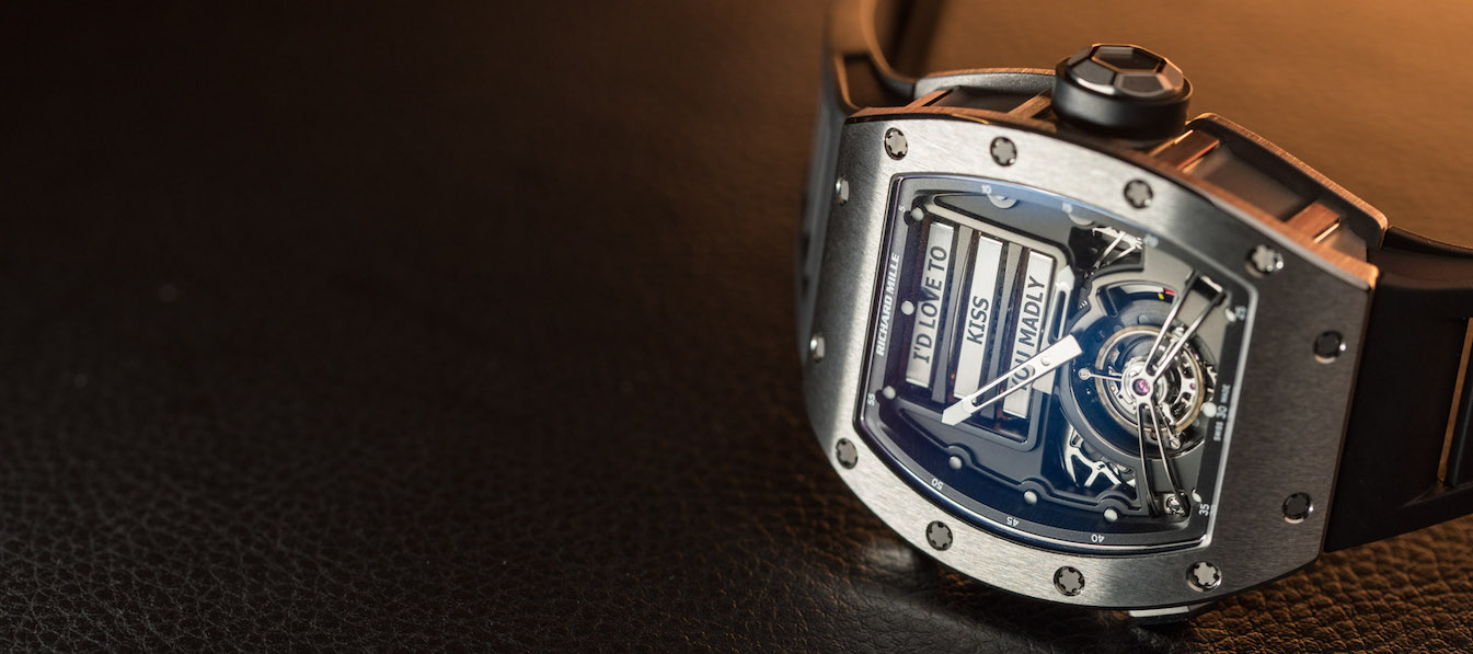 Richard Mille Horologist Explains Rm69 Erotic Tourbillon Video