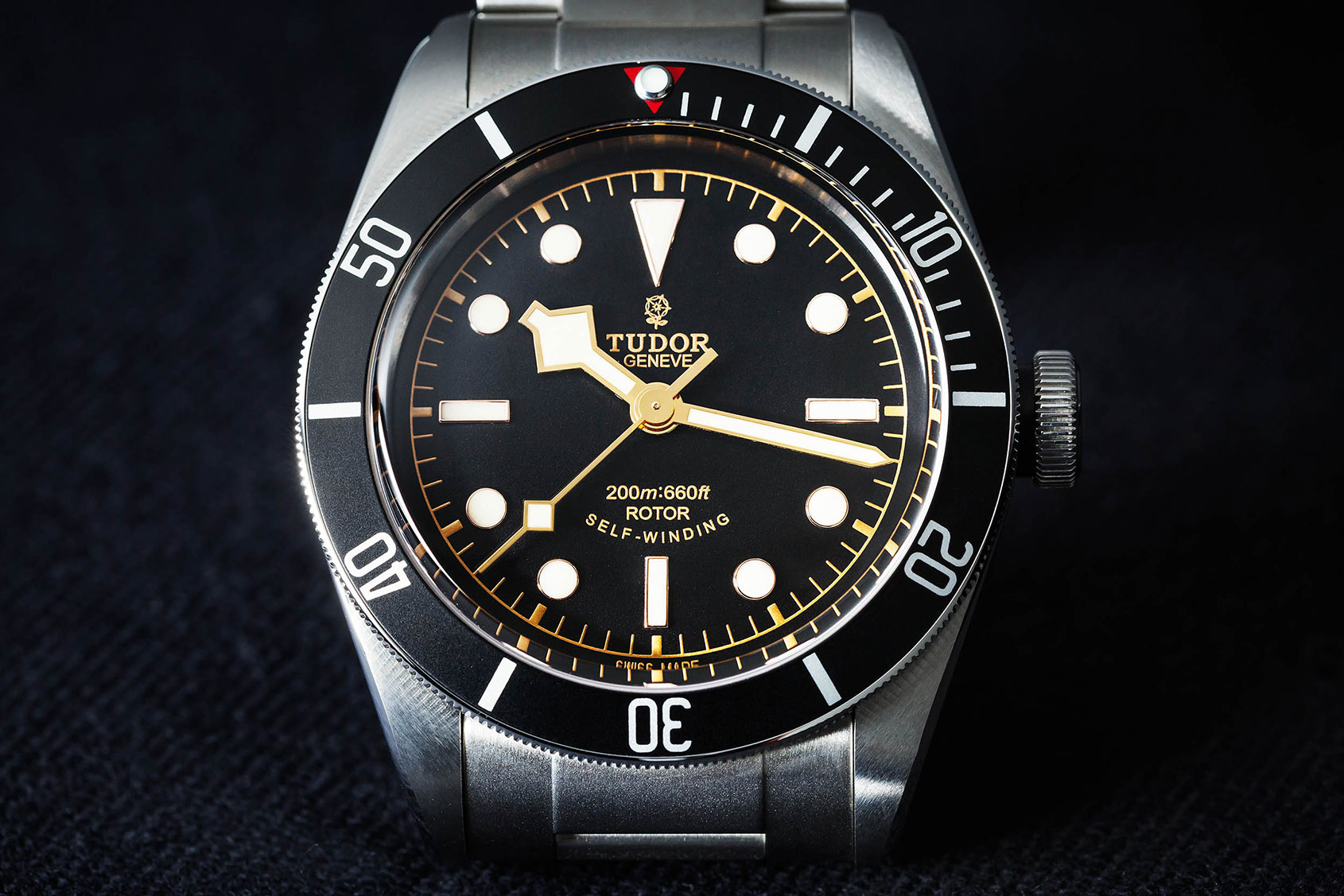 HANDS-ON: The Tudor Heritage Black Bay Black (reference ...