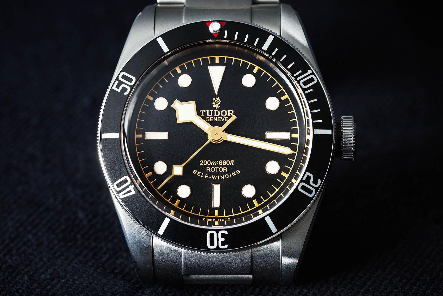 HANDS-ON: The Tudor Heritage Black Bay Black (reference ...