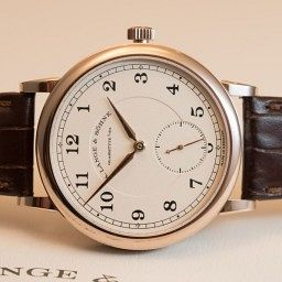 """HANDS-ON: The A. Lange & Söhne 1815 """"200th Anniversary F.A. Lange"""" in honey gold"""