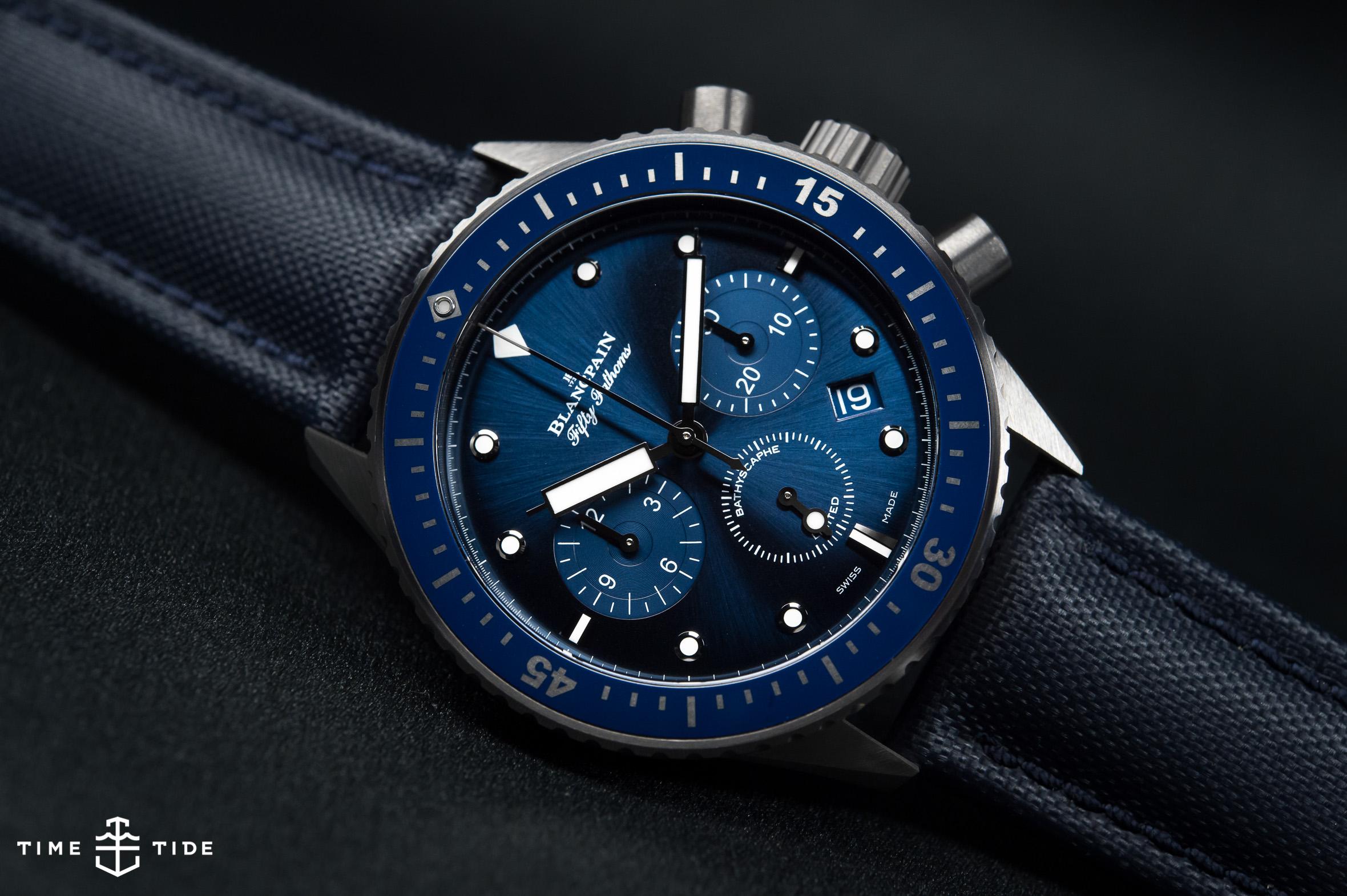 Blancpain Ocean Commitment Bathyscaphe Flyback Chronograph -1