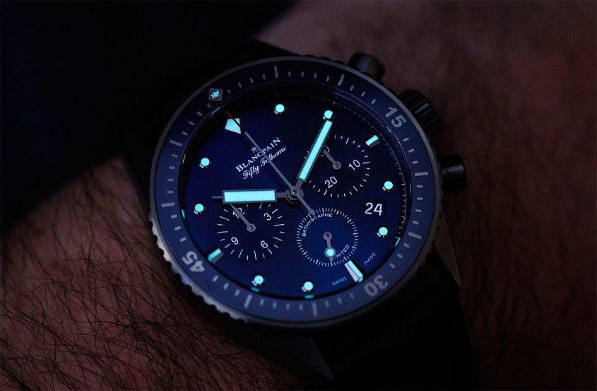 Blancpain Ocean Commitment Bathyscaphe Flyback Chronograph-12