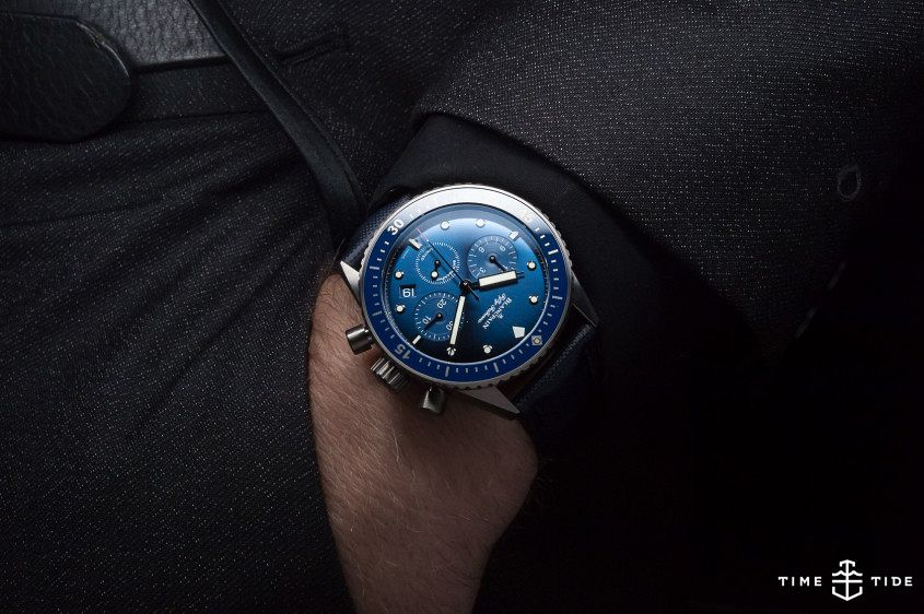 Blancpain Ocean Commitment Bathyscaphe Flyback Chronograph -3