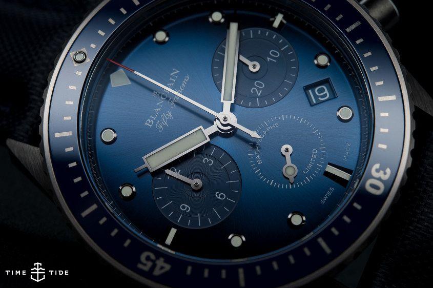 Blancpain Ocean Commitment Bathyscaphe Flyback Chronograph -8