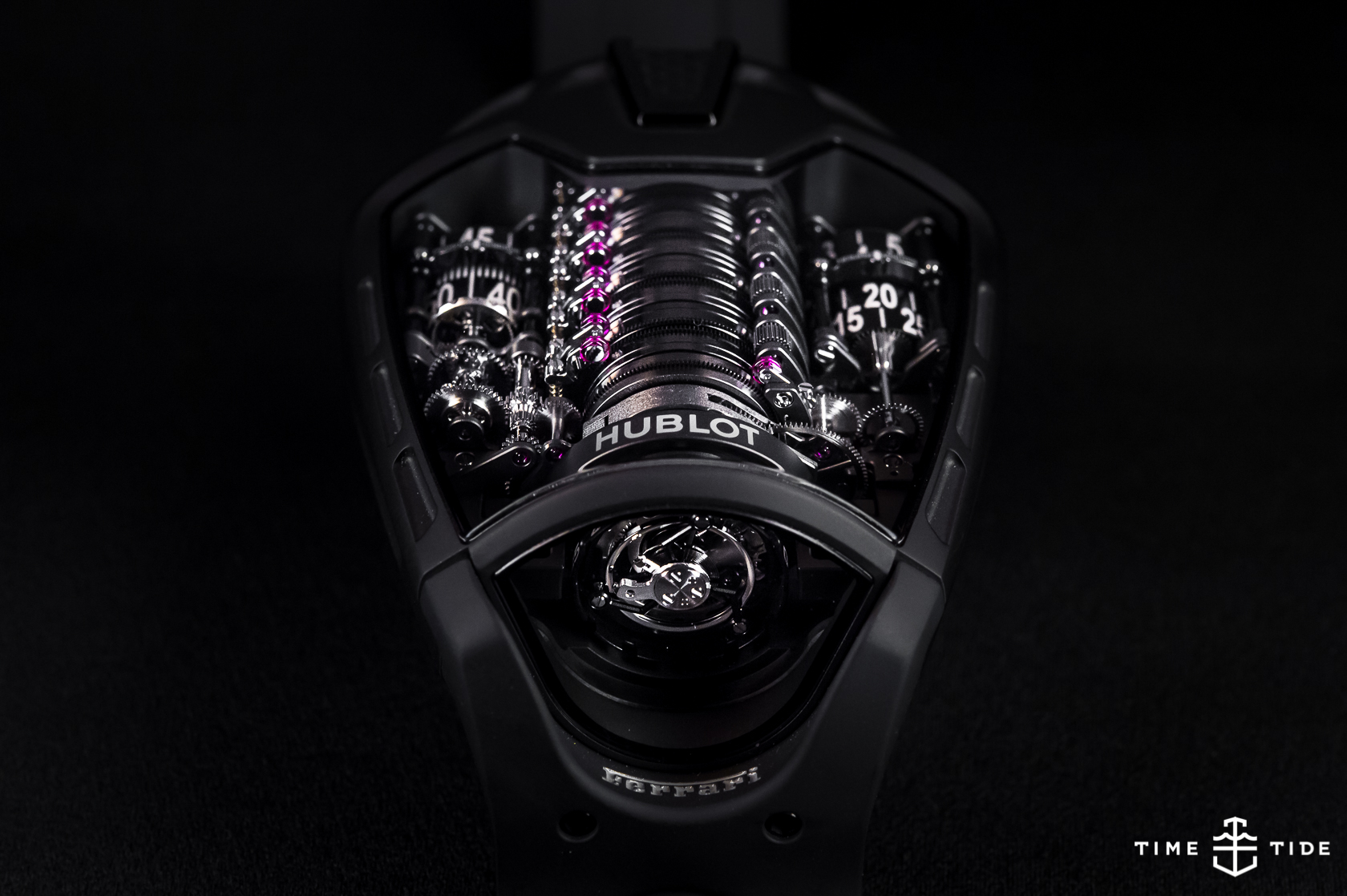 Hublot Mp 05 Laferrari All Black Hands On Review