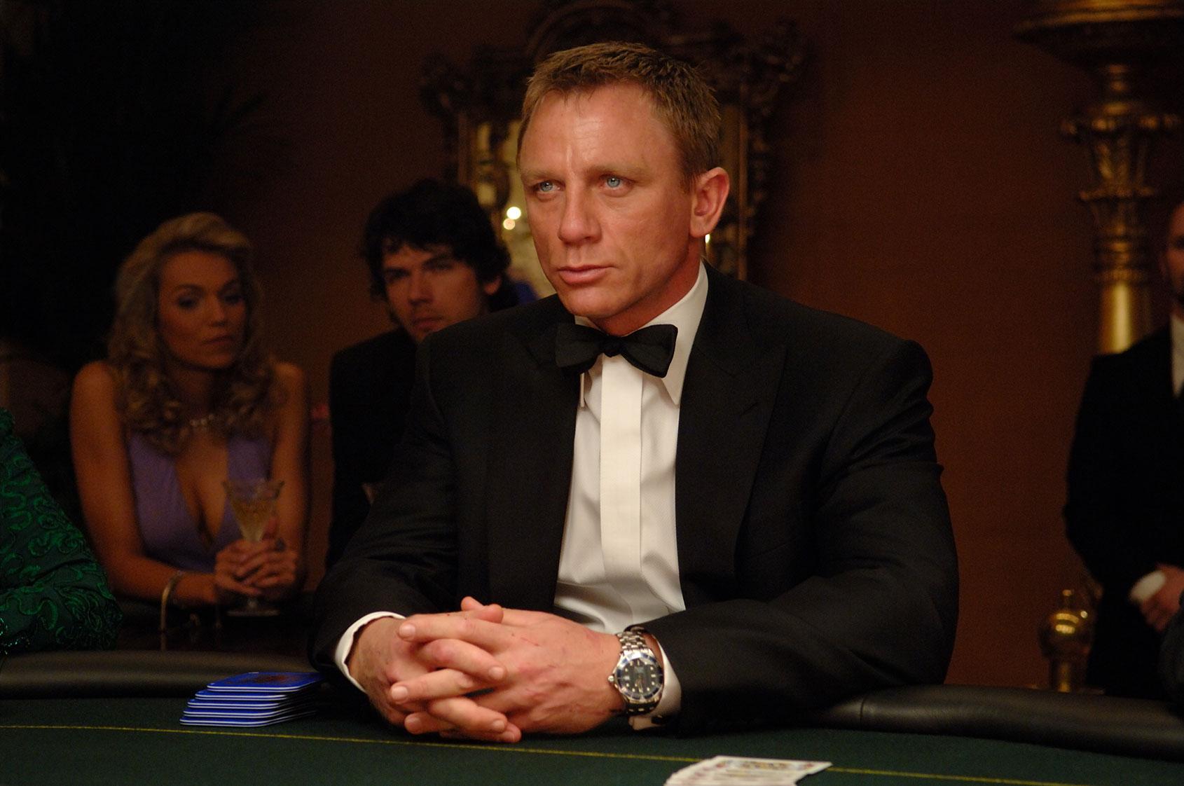 daniel craig casino royale spectre