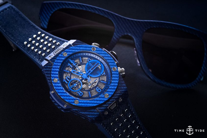 Hublot Big Bang Unico Italia Independent Blue-1