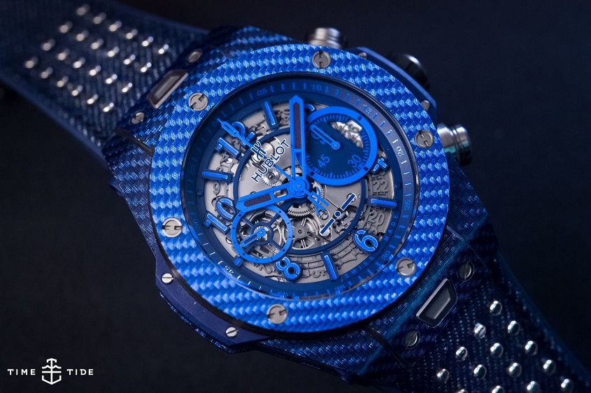 Hublot Big Bang Unico Italia Independent Blue-2