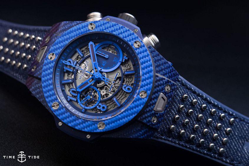 Hublot Big Bang Unico Italia Independent Blue-3