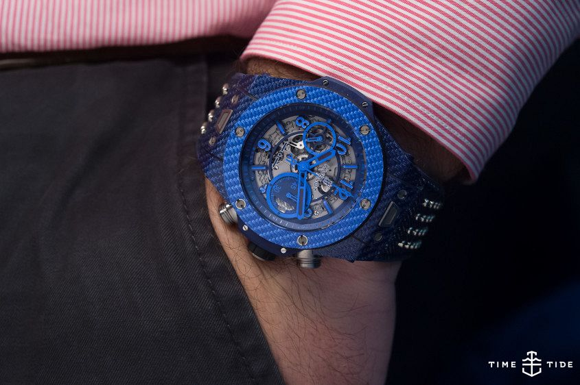 Hublot Big Bang Unico Italia Independent Blue-4