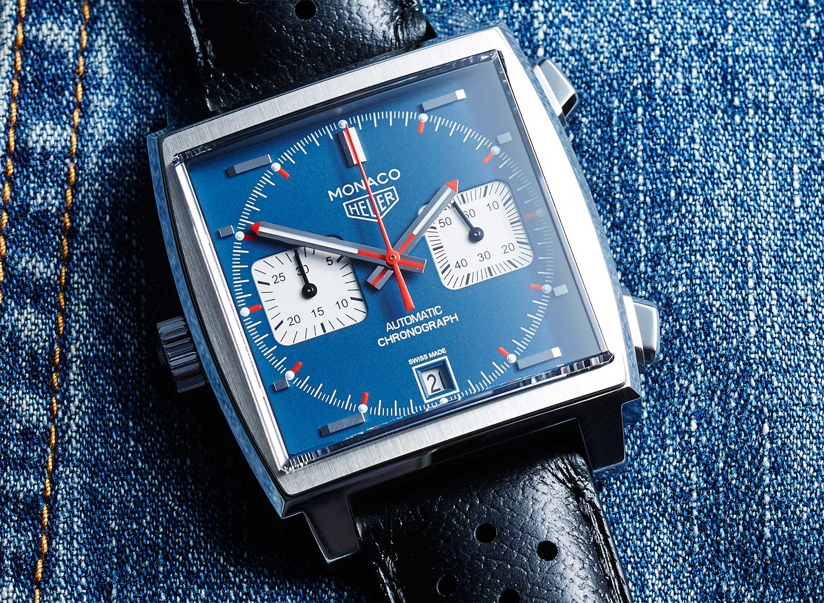 Tag: TAG Heuer Monaco Calibre 11 Ref. CAW211P In-depth Review