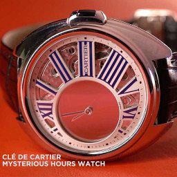 GONE IN 60 SECONDS: The Cartier Clé de Cartier Mysterious Hours video review