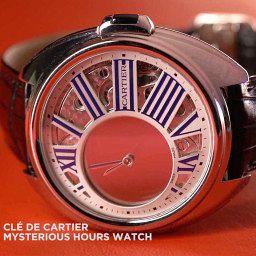 GONE IN 60 SECONDS: The Cartier Clé de Cartier Mysterious Hours video review