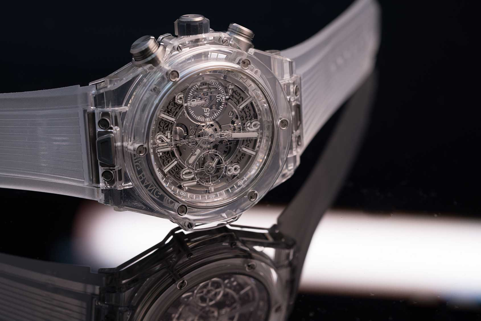 INTRODUCING: The Hublot Big Bang Unico Sapphire (live pics ...