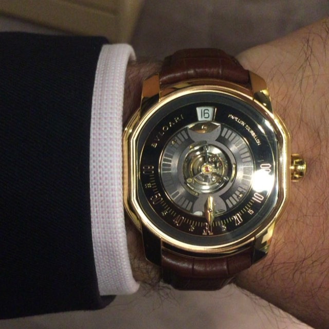We've got a lot of love for the Octo but it's hard to pass up this @bulgariofficial Papillon Central Tourbillon.