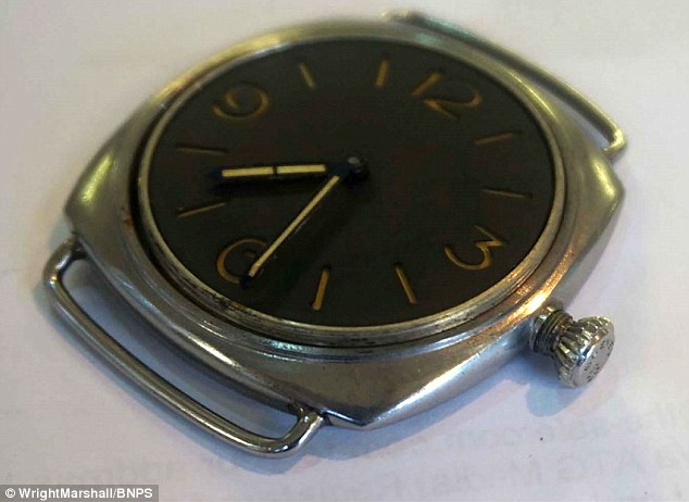 Rolex-made Panerai found in car boot sale