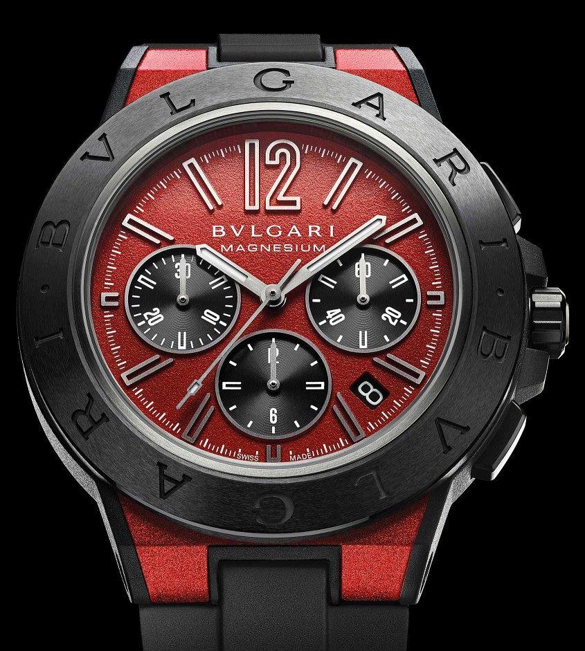 Bulgari-Diagono-Chronograph-Red