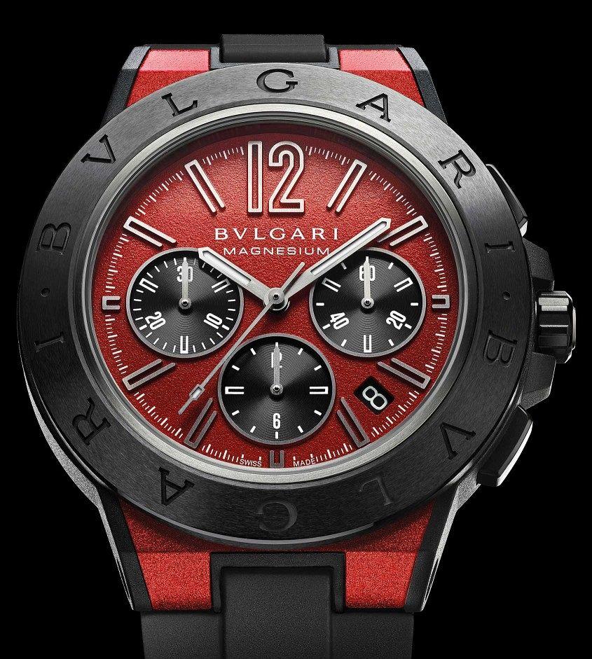 Bulgari-Diagono-Chronograph-Red