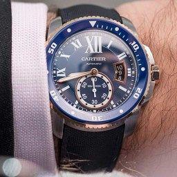 GONE IN 60 SECONDS: The Cartier Calibre de Cartier Diver Blue video review