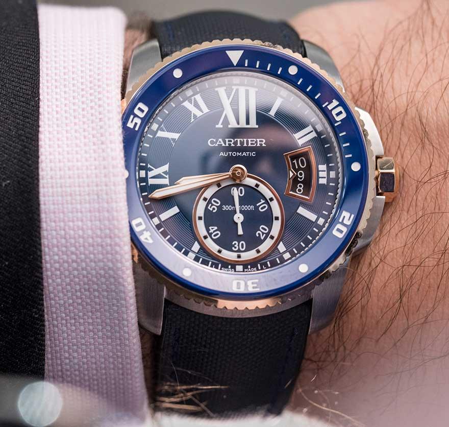Cartier Calibre De Cartier Diver Blue Video Review