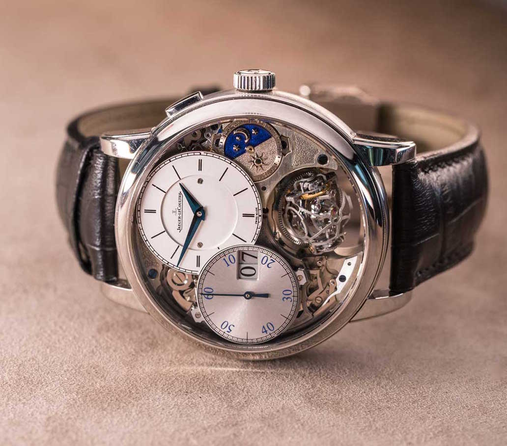 Jaeger lecoultre master grande tradition gyrotourbillon 3 jubilee watch hands on review for Jubilee watch