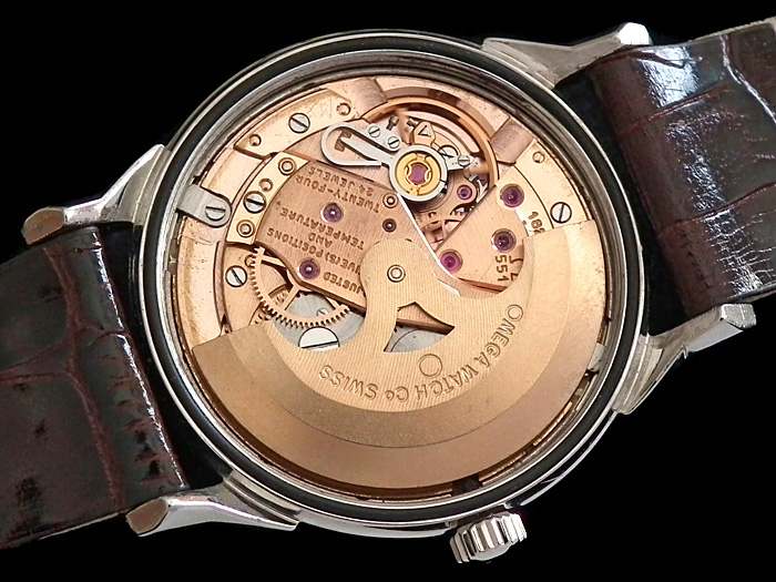 Omega Calibre 551. Image via fabsuisse.wordress.com