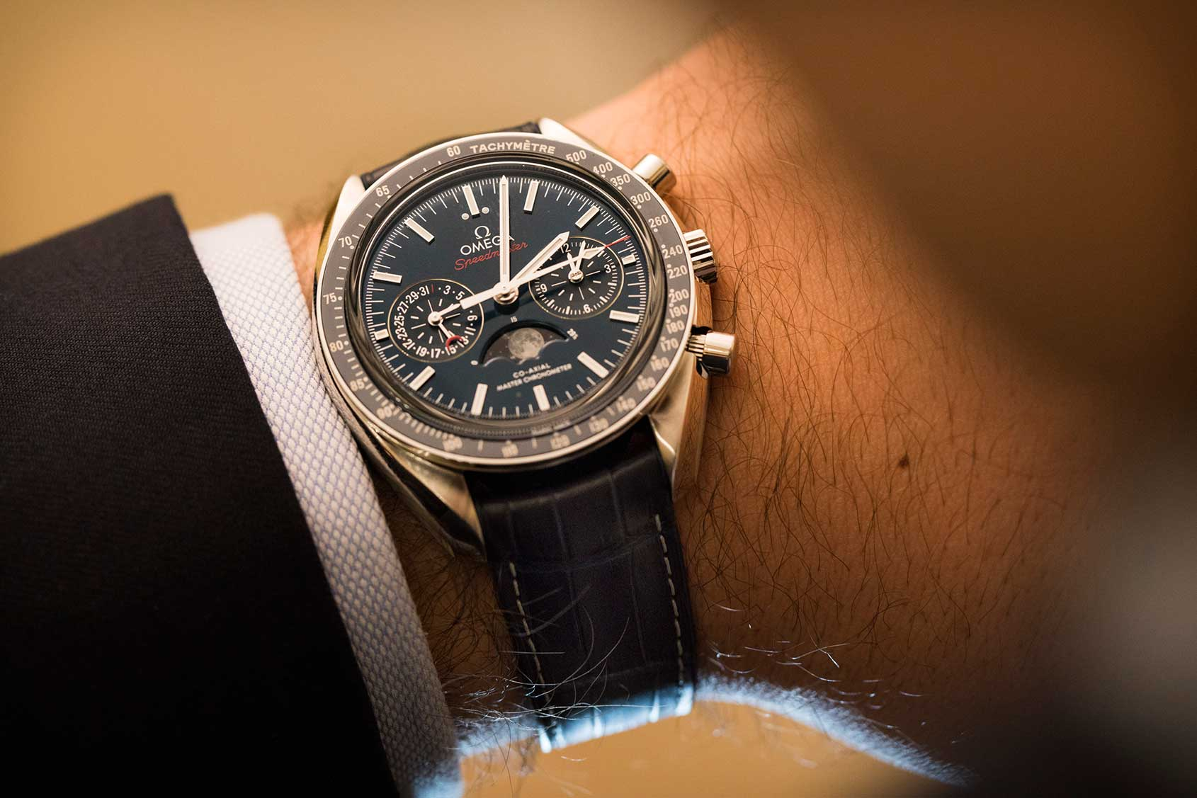 Gone In 60 Seconds The Omega Speedmaster Moonphase