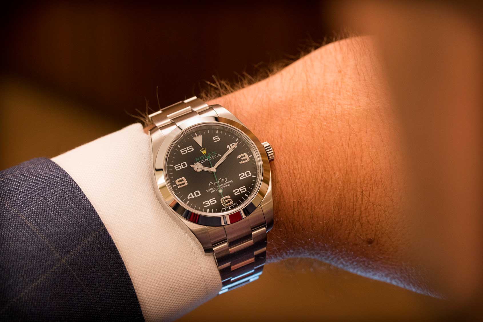 GONE IN 60 SECONDS: The Rolex Oyster Perpetual Air-King ...