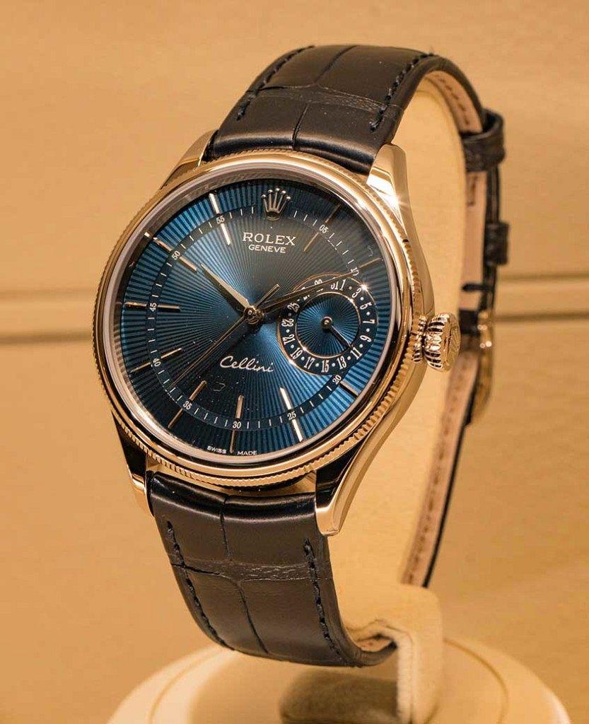 Rolex-Cellini-Blue-dial