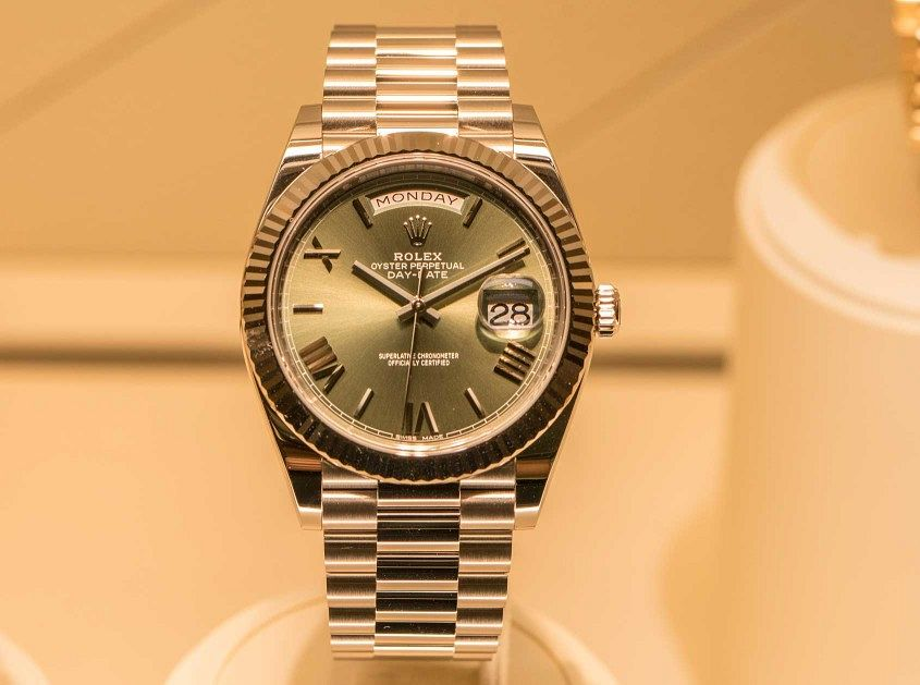 Rolex-Day-Date-40-Green-dial