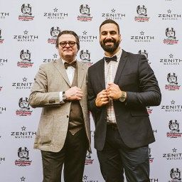 NEWS: Zenith partner with Distinguished Gentlemen to fight prostate cancer, crowd cheers