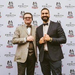 Zenith CEO Aldo Magada and Distinguished Gentleman's Ride founder MArk Hawwa.