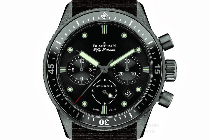 BLANCPAIN Fifty Fathoms BATHYSCAPHE Chronograph FLYBACK 02
