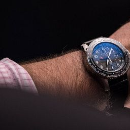 IWC Timezoner Chronograph Swiss Watch Luxury