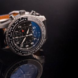 INTRODUCING: Change the time with a twist of the bezel on the IWC Timezoner Chronograph