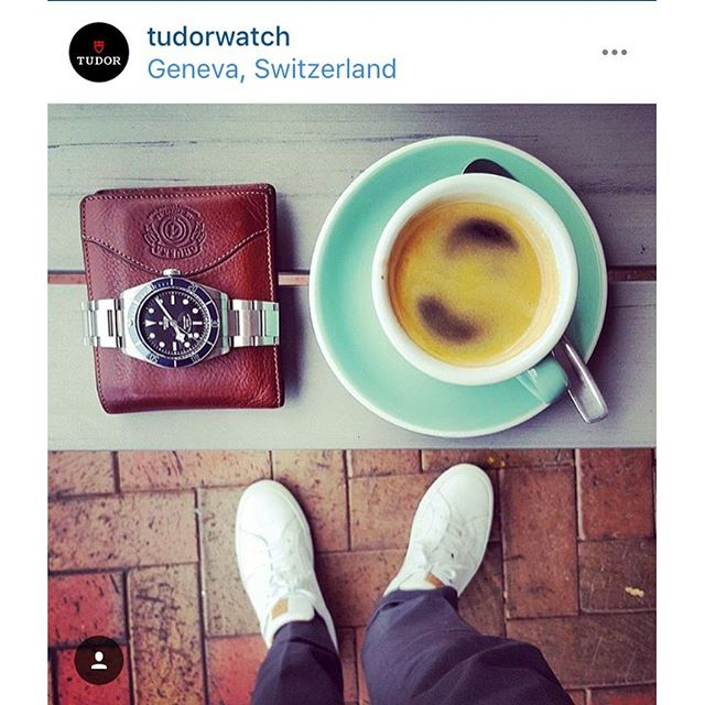 Everyone, stop everything. ANDY GREEN WAS JUST REPOSTED BY TUDOR. Those who know, know. ️