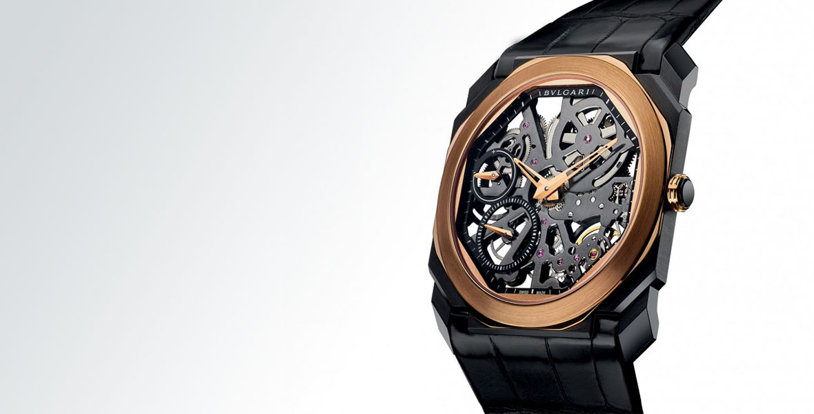 GONE IN 60 SECONDS: Nothing to hide - the Bulgari Octo Ultranero Finissimo Skeleton video review