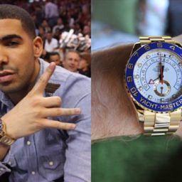 Drake-Rolex-YAcht-master-II
