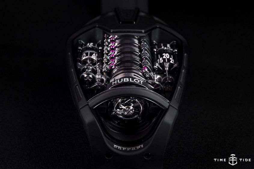 The Hublot MP-05-LaFerrari