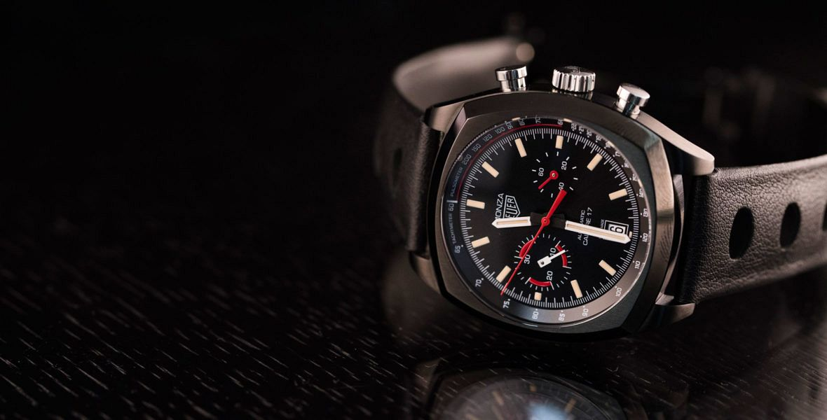GONE IN 60 SECONDS: Back in black - the TAG Heuer Monza video review