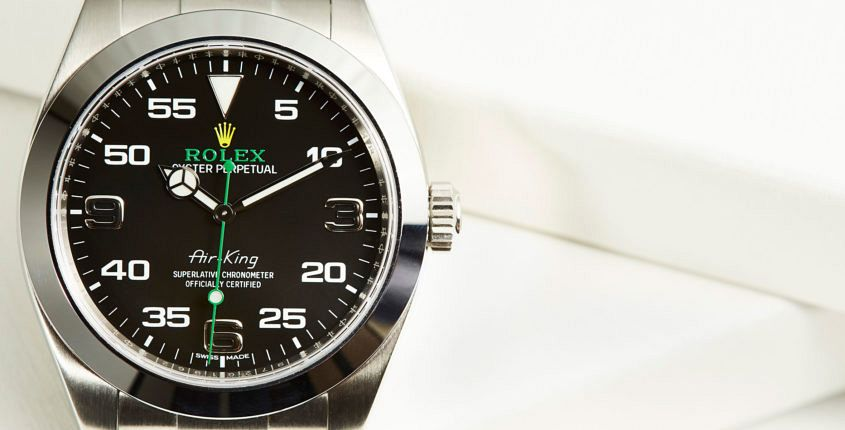A Rolex Air-King the way it should look