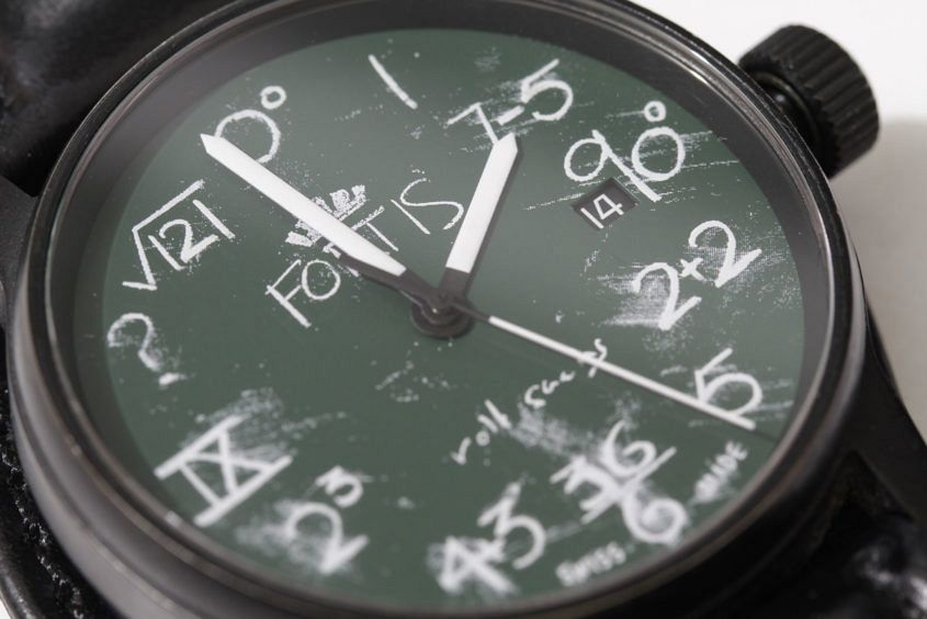 Fortis_IQ_Blackboard_Watch_designed_by_Rolf_Sachs_(5523190543)