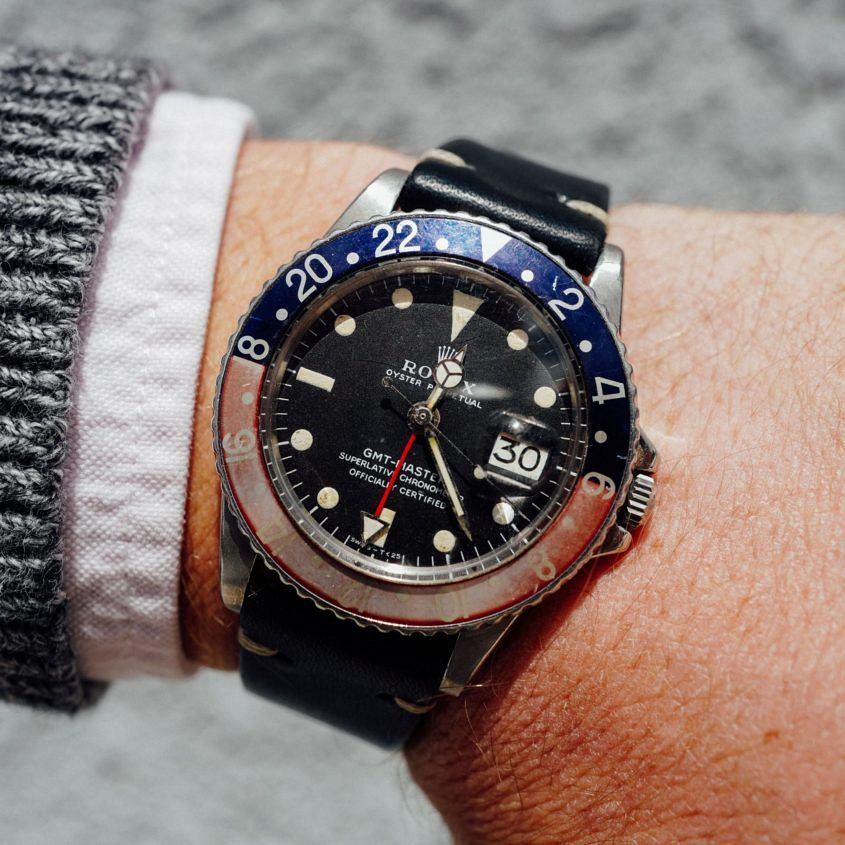 My Rolex Gmt Master 1675 Ted From Petrolicious S Watch Story