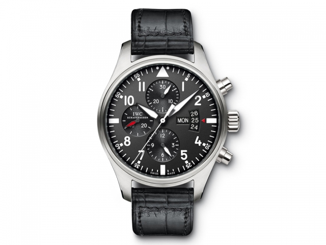 The superseded IW377701 Pilot's Chronograph