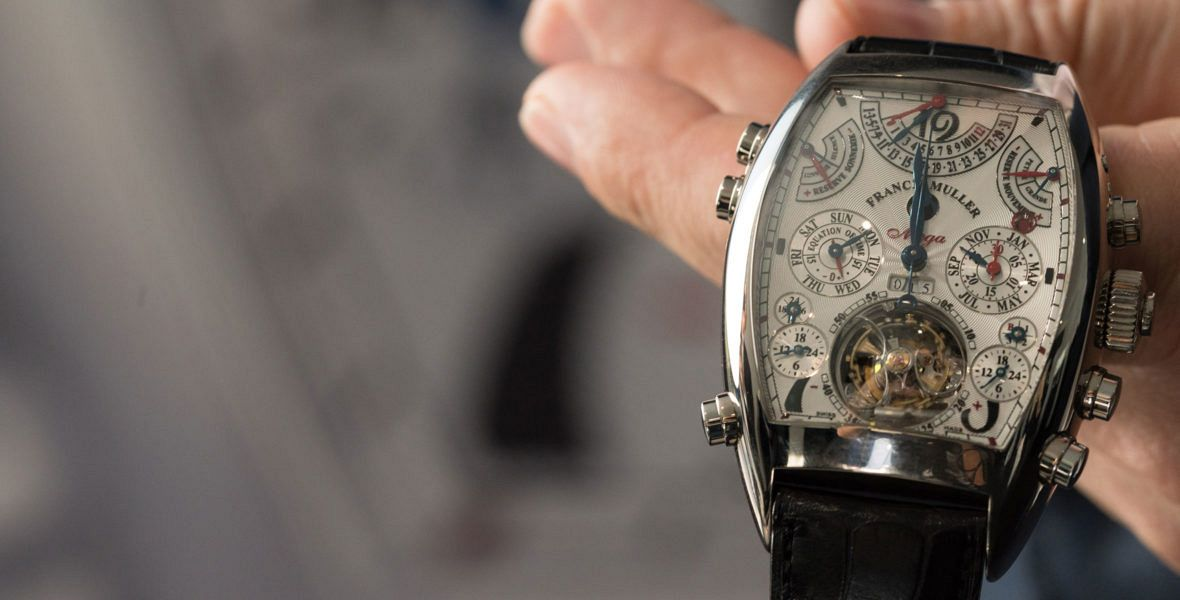 GONE IN 60 SECONDS: The most complicated wristwatch ever made - the Franck Muller Aeternitas Mega video review