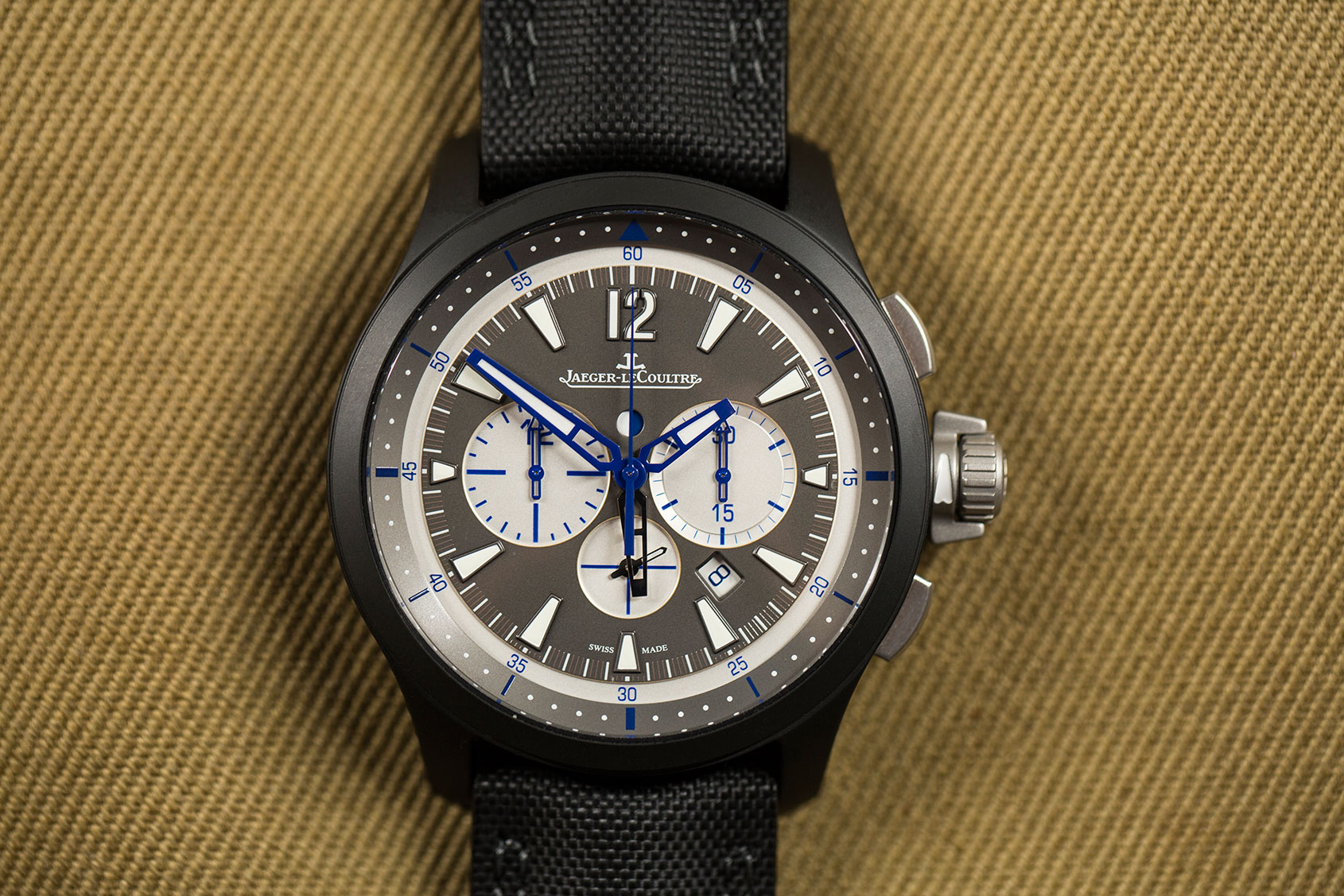 JLC's Master Compressor Chronograph Ceramic is the