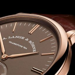 INTRODUCING: The warm tones of the A. Lange & Söhne Saxonia Automatic in Terra Brown