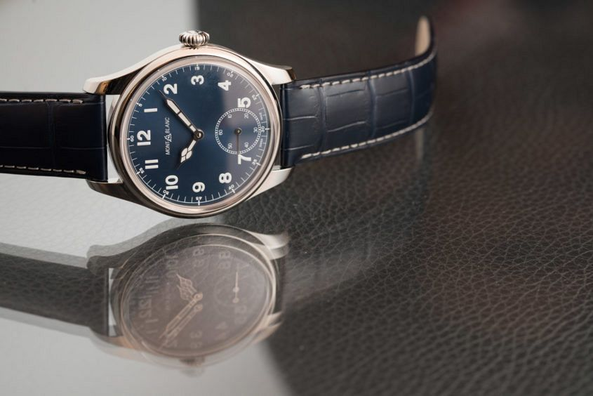 montblanc 1858 manual small second price