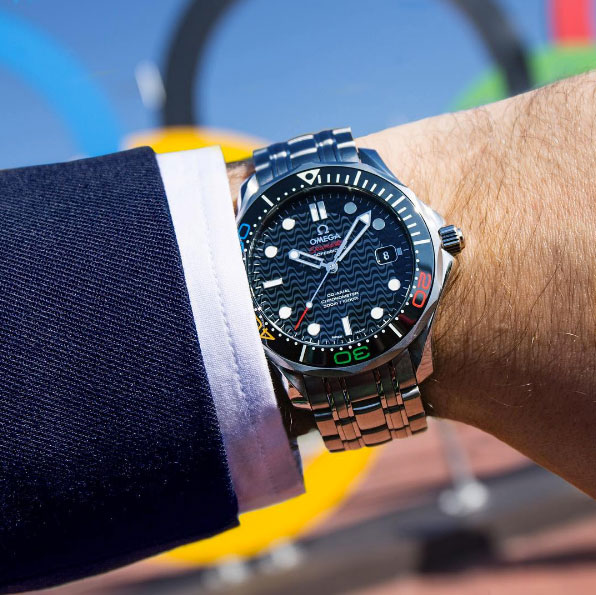 Omega Seamaster Diver 300 Quot Rio 2016 Quot Limited Edition One